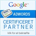 Google Adwords Certificeret Partner